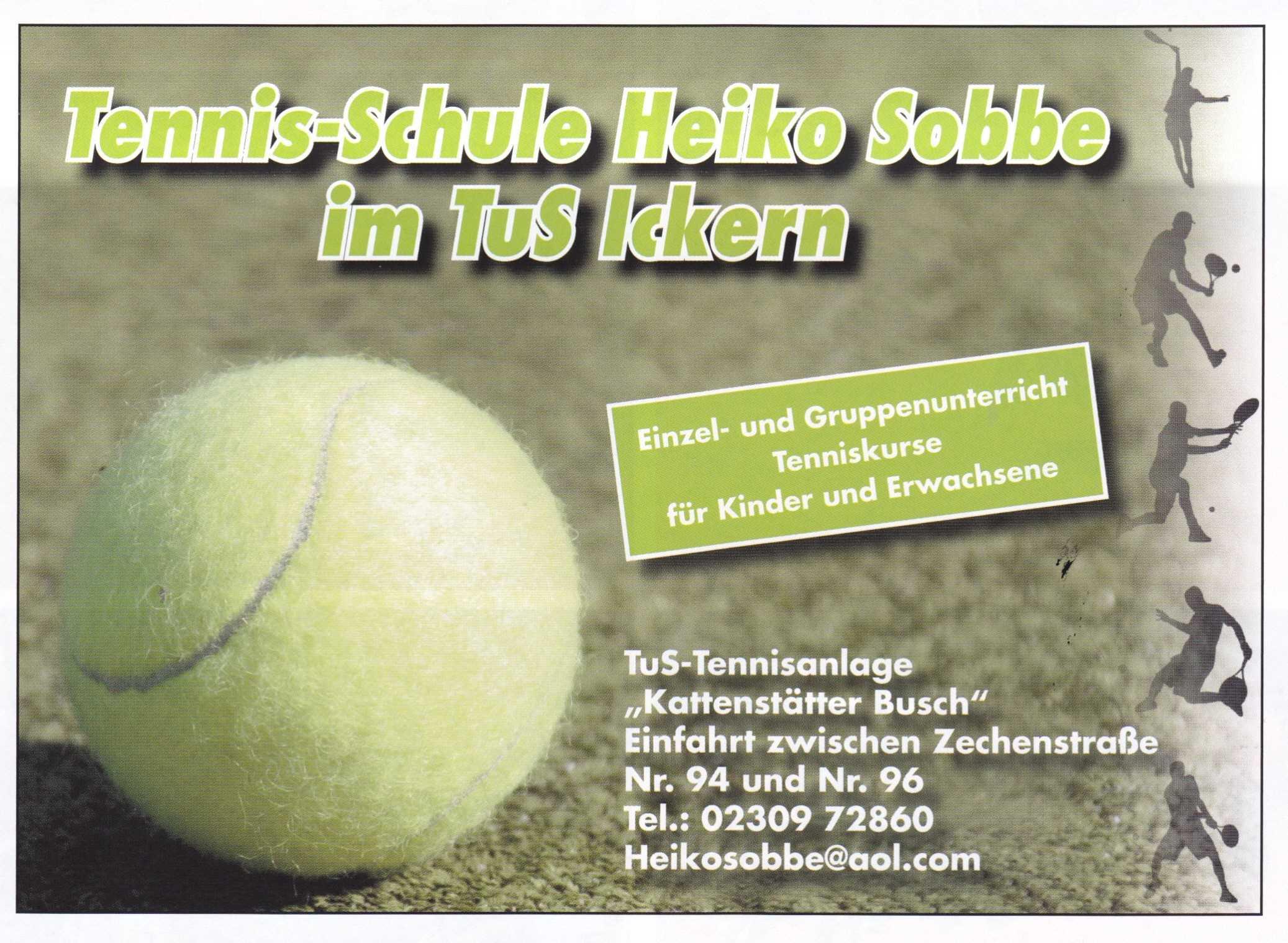 Tennis-Schule Heiko Sobbe